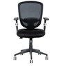 Ergonomic Chair in Black Colour by Parin