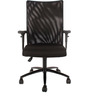 Ergonomic ECOmesh Chair in Black Colour by FabChair