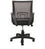 Ergonomic Office Chair in Black Colour by Chromecraft