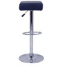 Espana Bar Stool in Navy Blue Color by The Furniture Store
