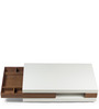 Estonia Coffee Table in Brown & White Colour by HomeHQ