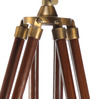 Derry Tripod Floor Lamp in Brown by Bohemiana