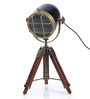 Ethnic Roots Brass Finish Tripod Table Lamp