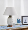 Agustin Table Lamp in Beige by CasaCraft