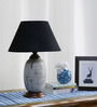 Hilario Table Lamp in Black by CasaCraft