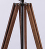 Ethnic Roots Brown Sheesham Wood Tripod Lamp Base