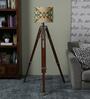 Ethnic Roots Yellow & Green Cotton Floor Lamp