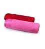 Eurospa Multicolour 100% Cotton 27 x 54 Bath Towel - Set of 2