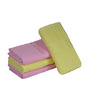 Eurospa Pink & Yellow Cotton 24 x 16 Paradise Hand Towel - Set of 4