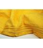 Eurospa Yellow 100% Cotton 27 x 54 Bath Towel