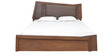 Everest Queen Bed in Brown Colour by @home
