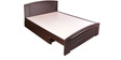 Evita Wenge King Size Bed by HomeTown