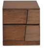 Everest Night Stand in Brown Colour by @home