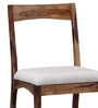 Everson Six Seater Dining Set with Bench in Provincial Teak Finish by Woodsworth