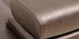 Exotica Lounger Sectional Sofa with LHS Lounger in Designer Leatherette Upholstery by Star India