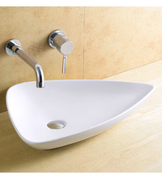Exor White Ceramic Wash Basin (Model: 1010)