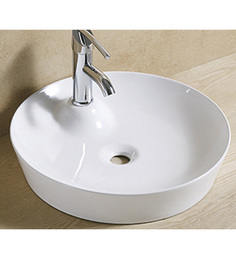 Exor White Ceramic Wash Basin (Model: 1069)
