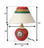 ExclusiveLane White Polyvinyl Table Lamp