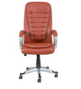 Executive High Back Chair in Tan Brown Color by Star India