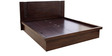 Fabian King Bed with Storage in Wenge Finish by HomeTown