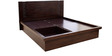 Fabian King Bed in Wenge Finish by HomeTown