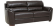 Falcon Three Seater Sofa in Dark Brown Colour by Star India