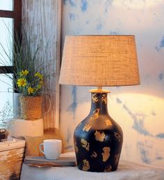 Fabuliv Beige Jute Salome Table Lamp
