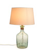 Fabuliv White Cotton Table Lamp