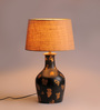 Fabuliv Beige Jute Salome Table Lamp