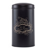 Fabuliv Country Kitchen Wood and Metal 1.5 L Cylindrical Canister