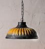 Fabuliv Yellow and Black Teracotta Vintage Pendant
