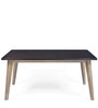 Falcon Six Seater Dining Table in Pastel Brown Colour by @Home