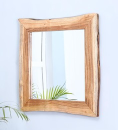 Felciano Live Edge Mirror Frame In Natural By CasaCraft