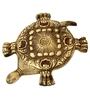 Chintak Tortoise Showpiece in Brown by Mudramark