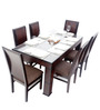 Fendi Six Seater Dining Set (1 T + 6 C) by Looking Good Furniture