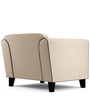 Ferris One Seater Sofa in Cream  Colour by Furny