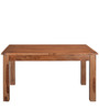 Festo Eight Seater Solid Wood Dining Table in Brown Colour by @Home