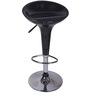 Fibra Black Color Bar Chair by VJ Interior
