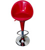 Fibre Red Color Bar Chair by VJ Interior