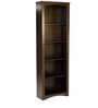 Chika Book Shelf cum Filing Cabinet in Wenge Finish by Mintwud