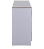 Finlay Chest of Drawers Table in White Colour by Evok