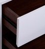Finlay RHS Bedside Table in White Colour by Evok