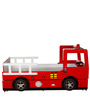Fire Engine Bed with Trundle in Red Colour by Child Space