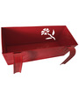 First Smart Deal Red Gi Railing Planter