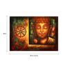 Fizdi Canvas 35 x 0.2 x 24 Inch Divine Light 7 Unframed Art Painting