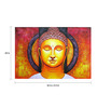 Fizdi Canvas 36 x 0.2 x 24 Inch Siddhartha Unframed Art Painting