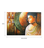 Fizdi Canvas 36 x 0.2 x 24 Inch Time of Reflections Unframed Art Painting