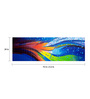 Fizdi Canvas 72 x 0.2 x 24 Inch Waves Unframed Art Painting
