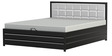 Double Bed with Lifton Storage by FurnitureKraft