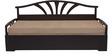 Flora Slider Sofa cum Bed in Brown Colour by Auspicious
